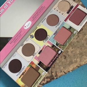The.Balm in the balm of your hand palette